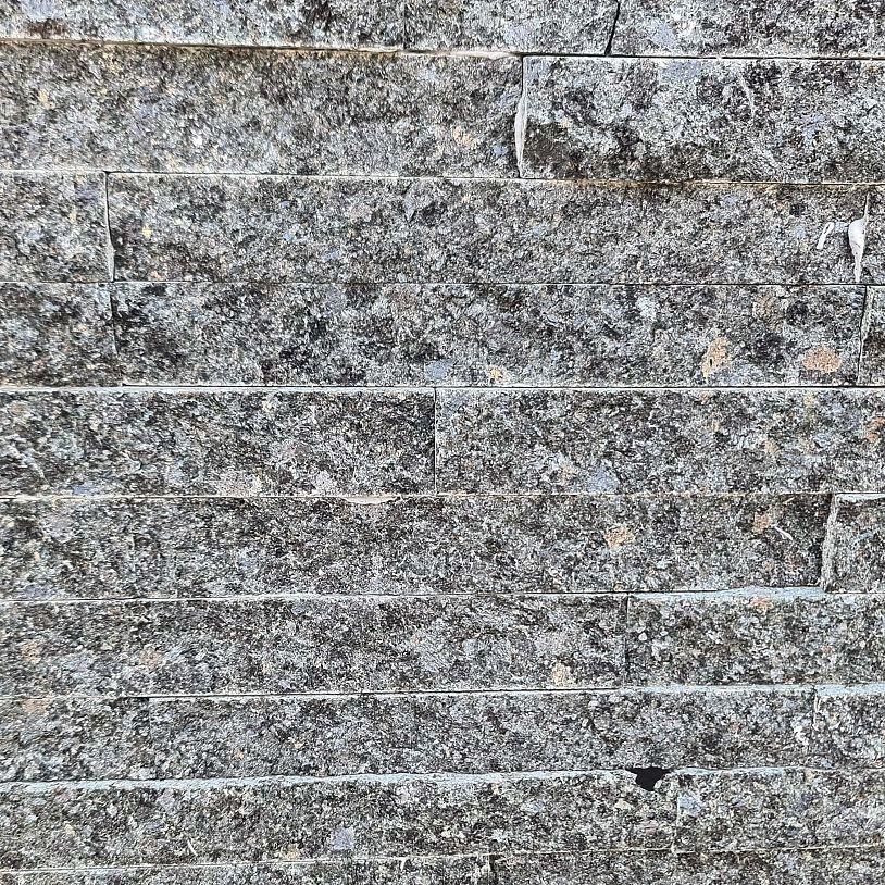 Black quarzite  60 x 15 cm